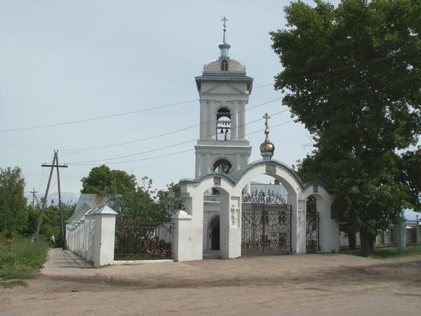 Троицкая церковь в Козьмодемьянске. Колокольня [Николай Чуксин]