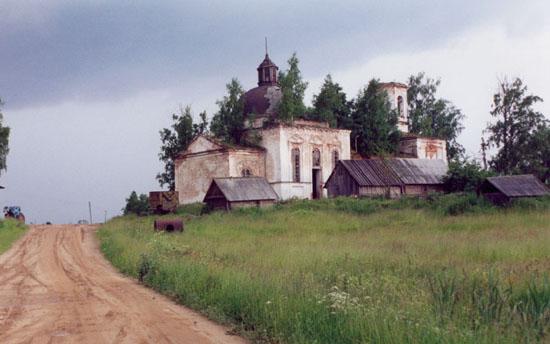 Храм в Мартюшино