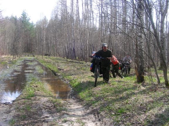 ЛЕСОКРУТ. Сырники и лужи в Марфинском лесу