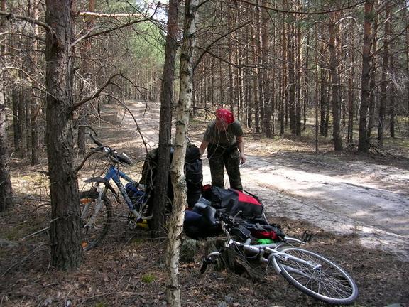 ЛЕСОКРУТ. Привал в лесу