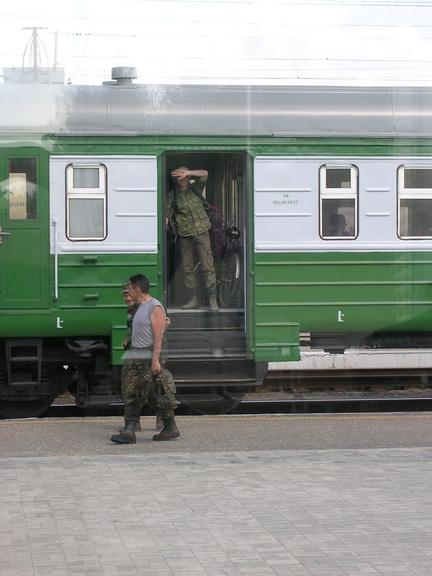 ЛЕСОКРУТ. В Вековском поезде