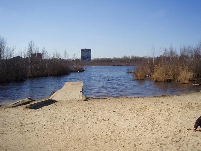 Пляж святое озеро 51
