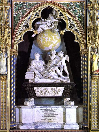 Isaac Newton Tomb [Unknown]