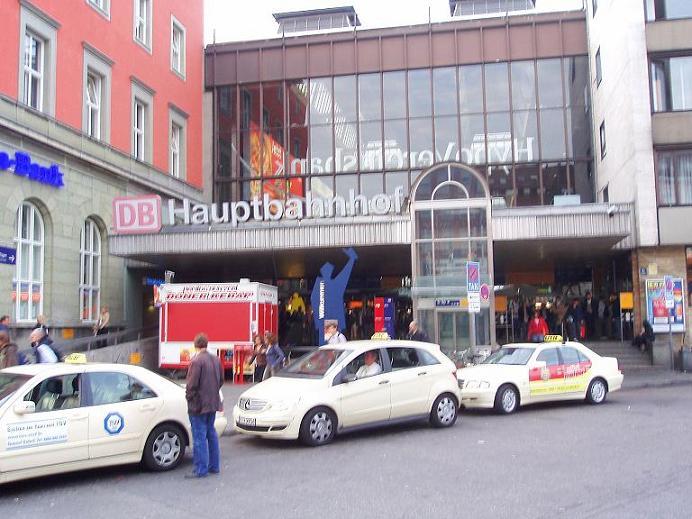 Hauptbahnhof Central Station